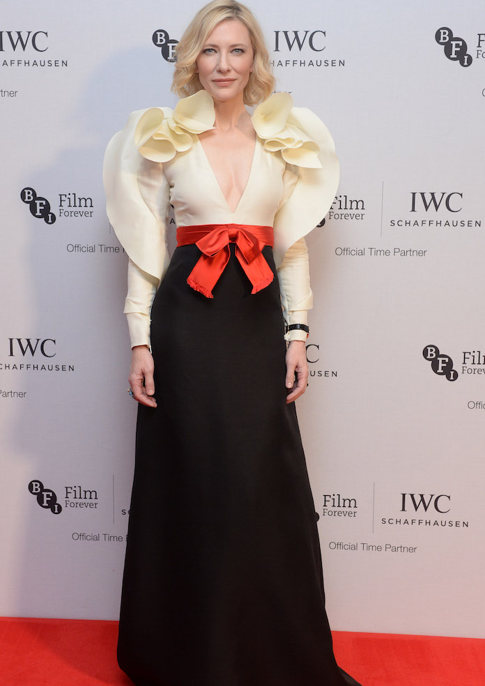 Cate Blanchett Goes With Gucci For IWC Gala Dinner