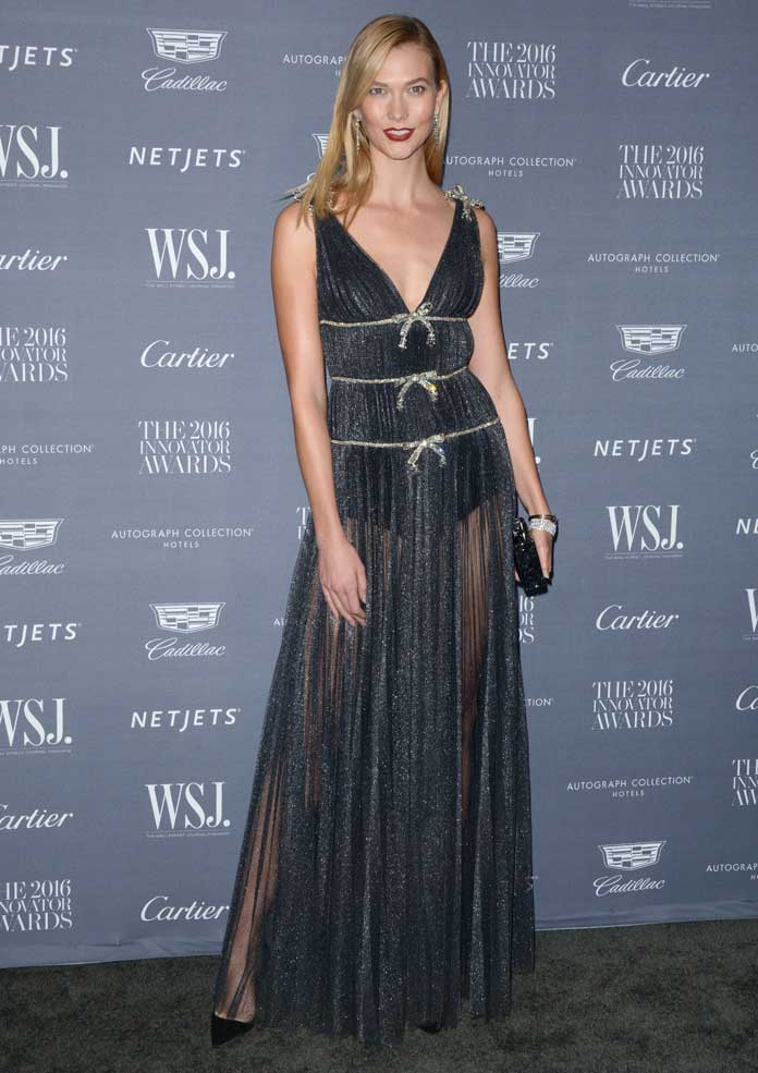 Karlie Kloss Dazzled In Miu Miu At Wall Street Journal Innovator Awards