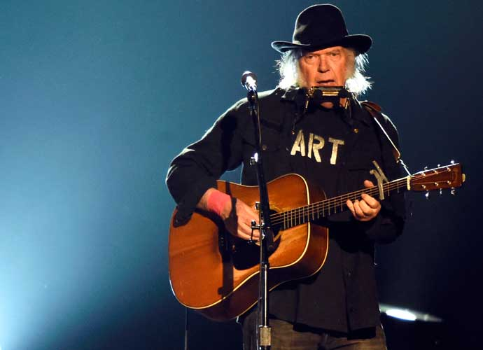 Neil Young's U.S. Citizenship Application Held Up Due To Marijuana Use
