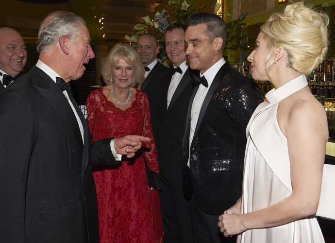 Lady Gaga And Robbie Williams Meet Prince Charles And Camilla Before Royal Variety Performance