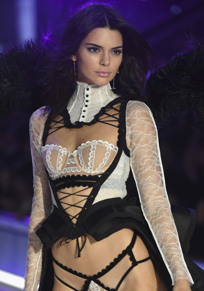 Kendall Jenner walks the runway at the Victoria's Secret Fashion Show
