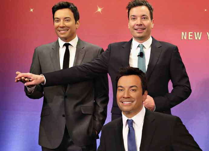 "Jimmy Fallon Gathers Cast Of 'Sing' To Perform A Capella Version Of ""Wonderful Christmas Time"""