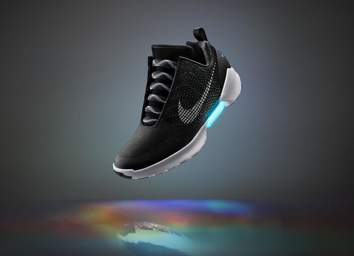 Nike HyperAdapt Sneakers: Auto-Tie Your Shoes Like Marty McFly