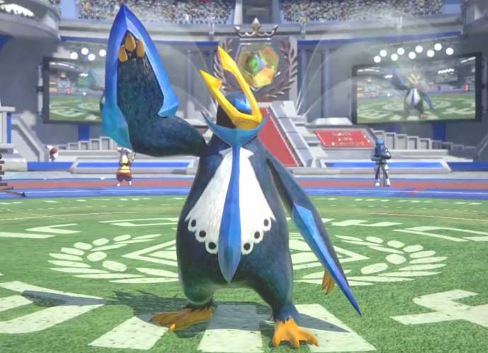 Empoleon Surfs Into 'Pokkén Tournament'