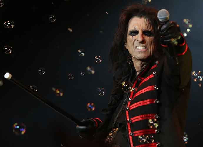 Alice Cooper Remembers Andy Warhol Painting In Storage For 40 Years