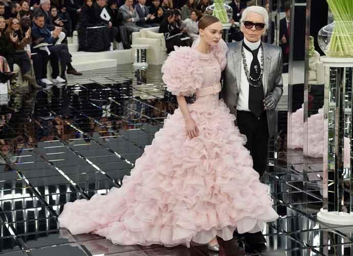 Lily-Rose Depp Closes Out Chanel Paris Show As Haute Couture Bride