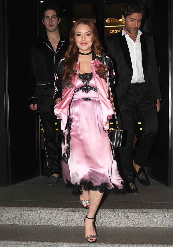Lindsay Lohan Hangs Out With Tommaso Zorzi In Italy, Amid Rumors Of Muslim Conversion