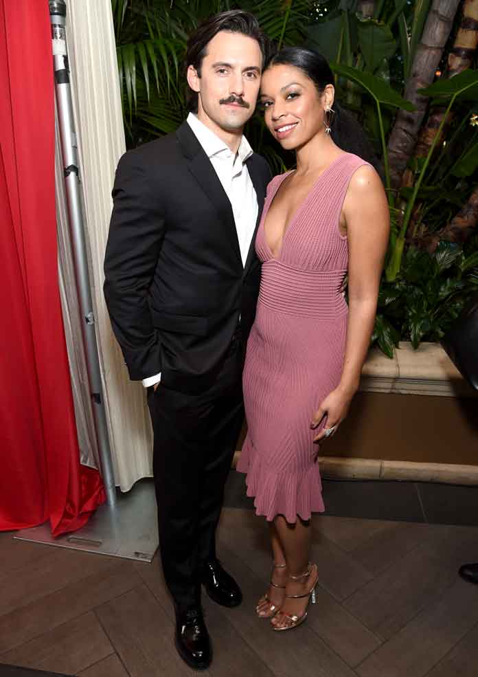 'This Is Us' Stars Milo Ventimiglia & Susan Kelechi Watson Light Up The AFI Red Carpet