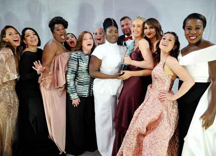 Cast Of 'Orange Is The New Black' Celebrates Its Ensemble Win At SAG Awards