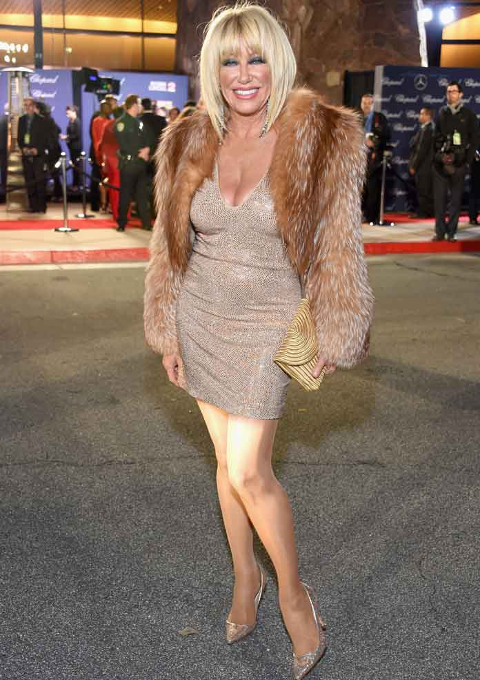 Suzanne Somers Wears 70 Well At Palm Springs International Film Festival Awards Gala