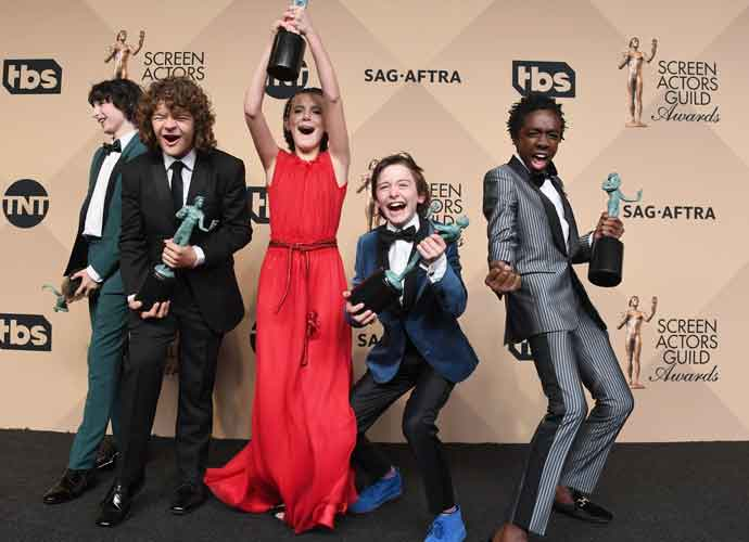 Young Cast Of 'Stranger Things' Celebrate Their SAG Award