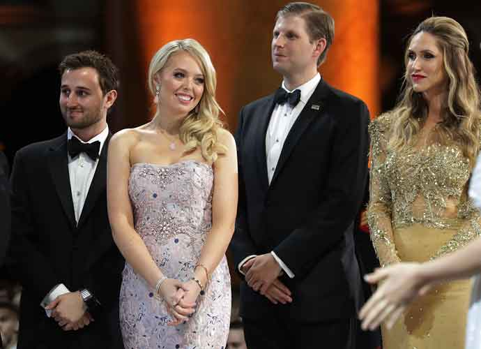 What Did Tiffany Trump Wear To The Inaugural Ball? All About Her Simin Taghdiri Gown