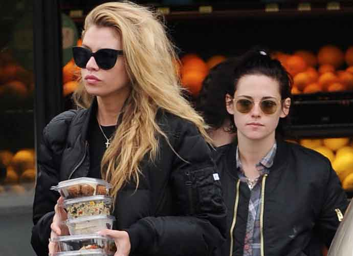Kristen Stewart Out Shopping With New Model Girlfriend Stella Maxwell