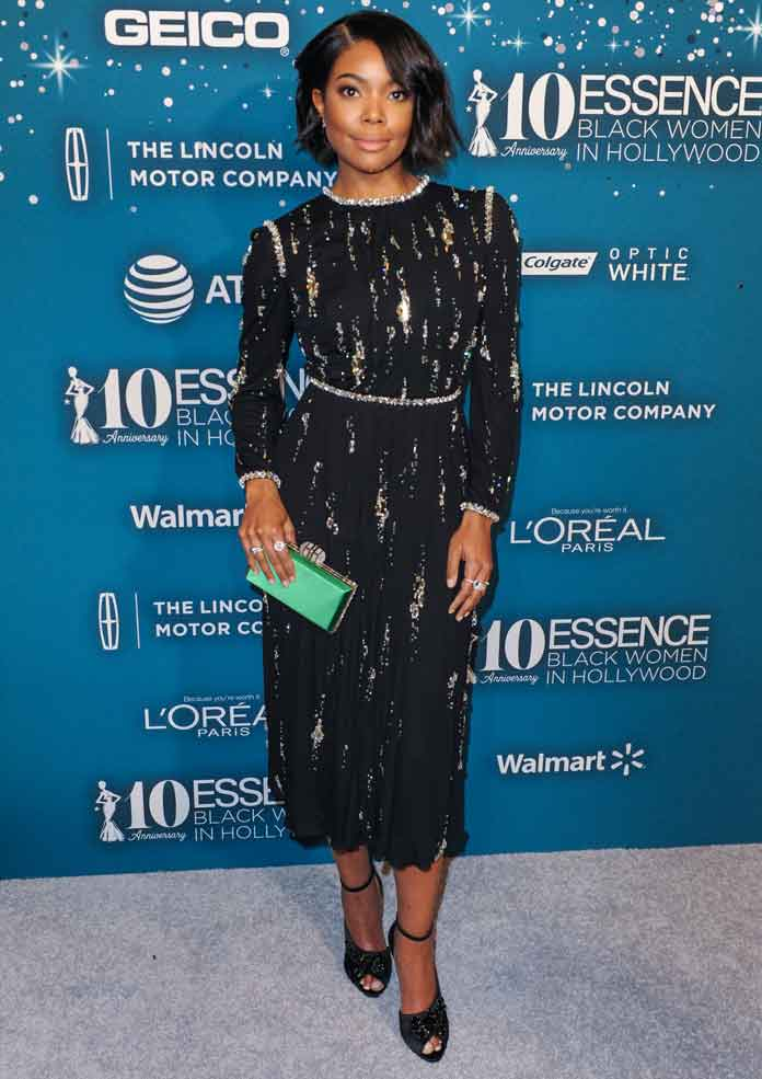 Get The Look: Gabrielle Union at Essence's 10th Annual Black Women in Hollywood Awards Gala