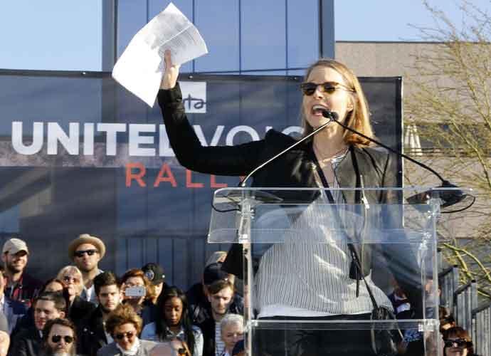Jodie Foster Speaks At UTA Rally Against Trump Travel Ban