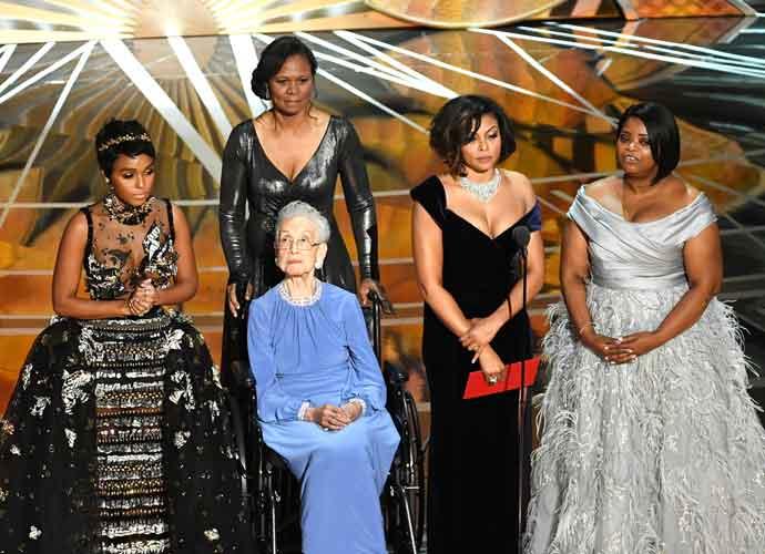 'Hidden Figures' Cast Introduce Real NASA Mathematician Katherine Johnson Onto Oscars' Stage