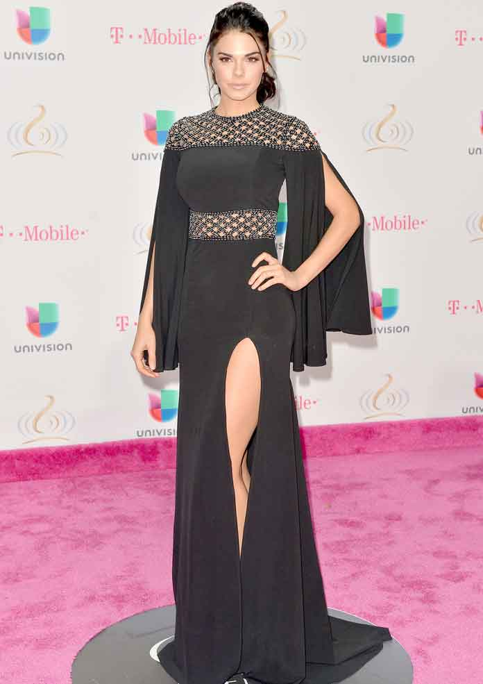 Get The Look: Livia Brito At Univision's 29th Premio Lo Nuestro A La Musica Latina