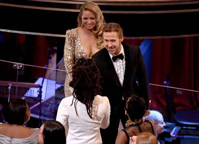 Mandi Gosling, Ryan Gosling's Sister, Outshines Brother With Cleavage-Bearing Dress