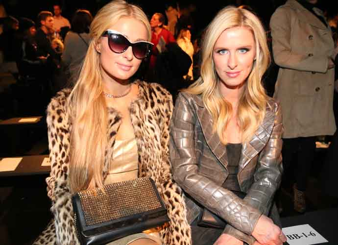 Paris & Nicky Hilton Attend New York Fashion Week