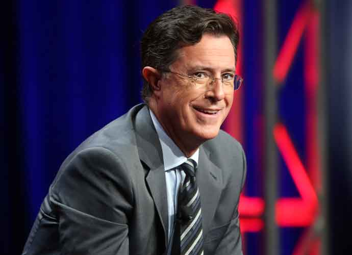 Stephen Colbert Vies For Inclusion In President Trump's 'Most Corrupt Media Awards'