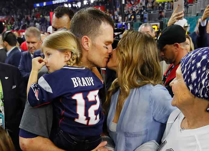 Tom Brady Dad-Shamed After Diving Off Cliff With 6-year-old Daughter, Vivian Brady [VIDEO]