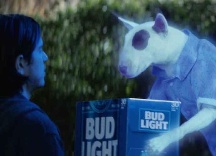 Spuds MacKenzie Returns In Bud Light Super Bowl Commercial Awesome Design