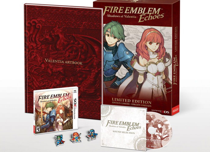 'Fire Emblem Echoes: Shadows of Valentia' Limited Edition Announced, Amiibo Details