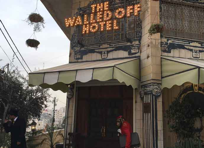 Banksy Hotel In The West Bank Opens To Guests [EXCLUSIVE PHOTOS]