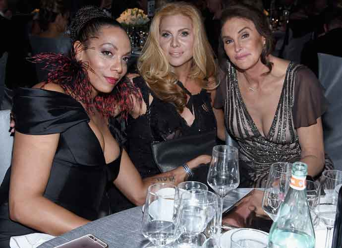 Caitlyn Jenner Attends Elton John AIDS Foundation Oscars Viewing Party With Candis Cayne