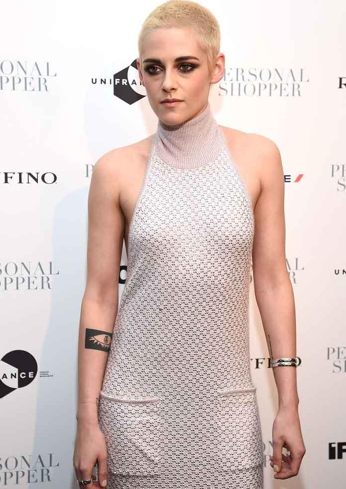 Kristen Stewart Debuts New Buzz Cut Look At 'Personal Shopper' Premiere