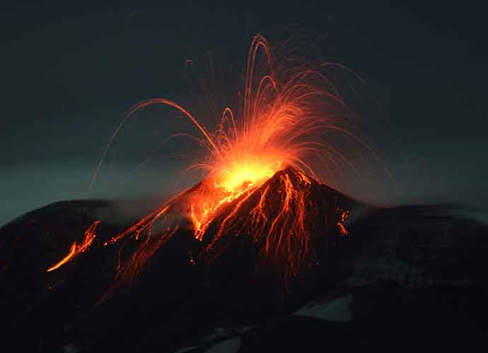 Mount Etna Erupts, Injuring Tourists & BBC Crew [PHOTOS]