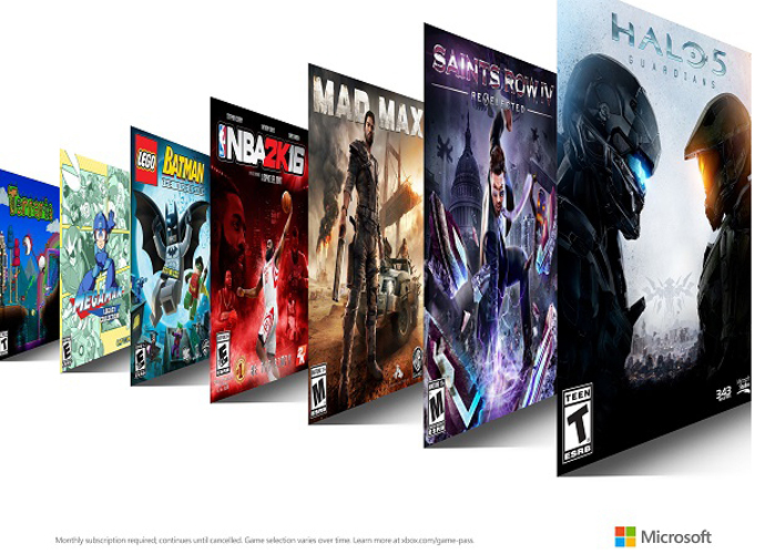 Xbox Game Pass Is Coming This Spring, Giving Access To Over 100 Titles