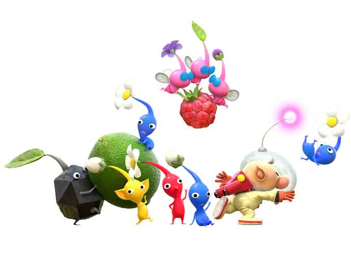 Arzest Is Developing 'Hey! Pikmin' Game For Nintendo 3DS