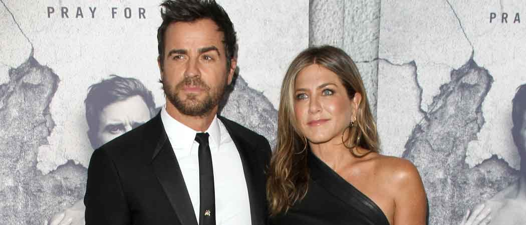 Justin Theroux & Jennifer Aniston Attend 'The Leftovers' Season 3 Premiere