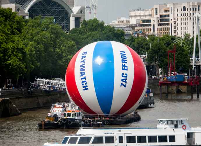 'Baywatch' Creates World's Largest Beach Ball For London Premiere