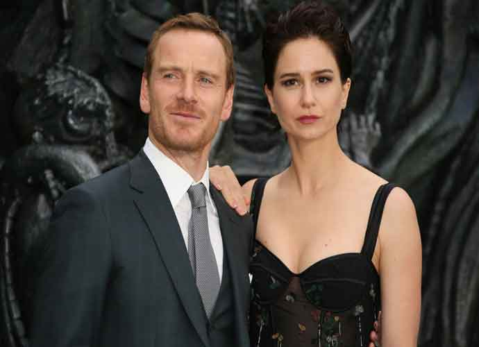 Katherine Waterston & Micheal Fassbender Look Sharp At 'Alien: Covenant' Premiere