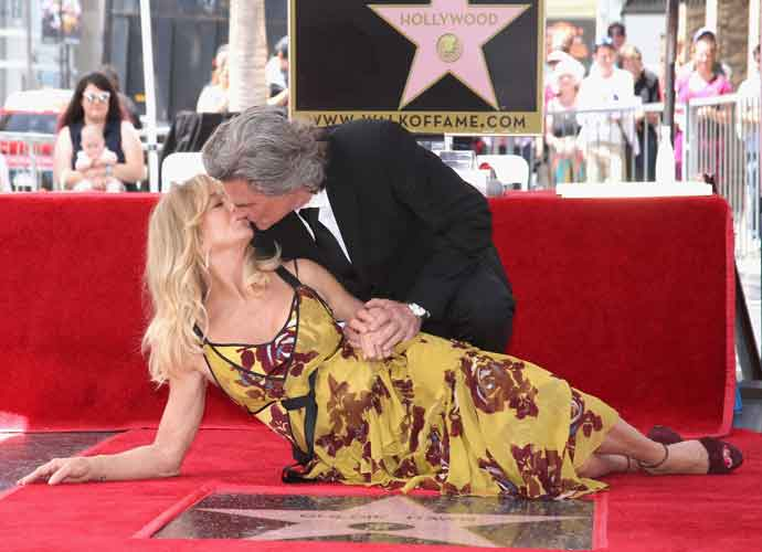 Goldie Hawn, Kurt Russell Receive Hollywood Walk Of Fame Stars
