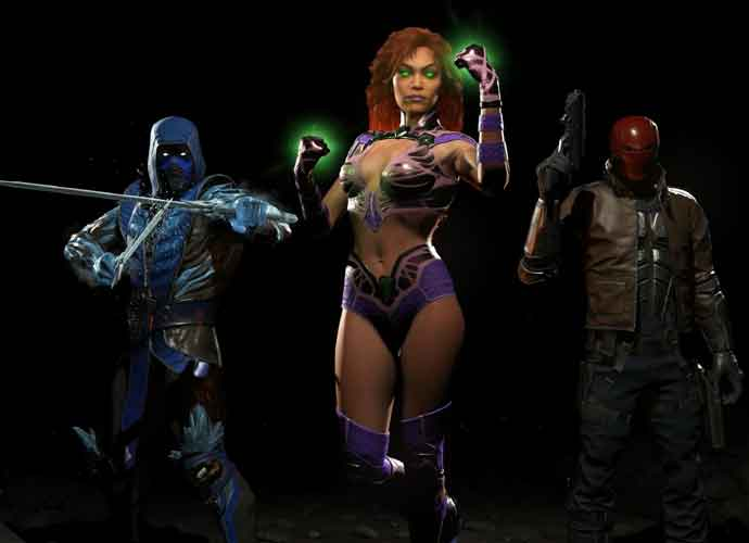 Red Hood, Starfire & Sub-Zero Join The War As DLC In 'Injustice 2'
