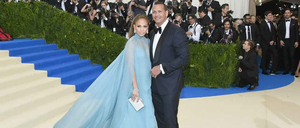 Alex Rodriguez & Jennifer Lopez Shine At Met Gala 2017
