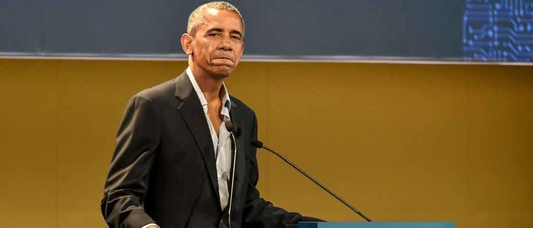 Barack Obama Wears Partly Unbuttoned Shirt At Milan Global Food Innovation Summit