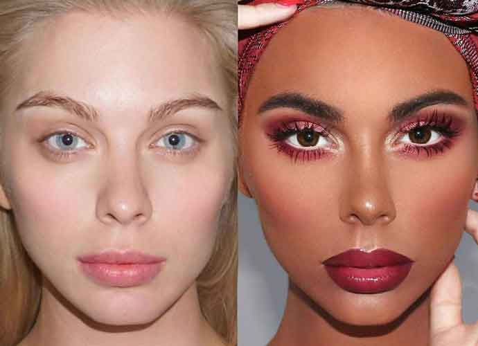 Makeup Artist @paintdatface Under Fire For Transforming White Model With Blackface