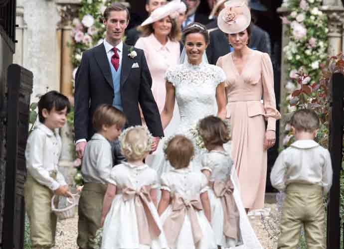 Pippa Middleton Wedding Dress: Kate's Sister Marries James Matthews In Giles Deacon Gown