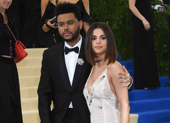 Selena Gomez & The Weeknd Affectionate At The 2017 Met Gala