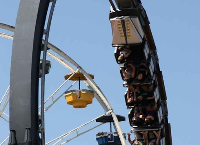 Oklahoma City Roller Coaster Stalls At Frontier City Theme Park, Firefighters Rescue Stranded Riders