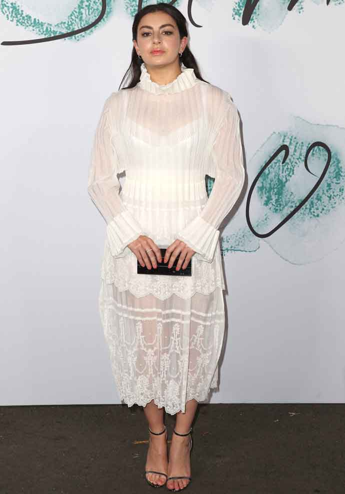 Charli XCX Covers Up At The Serpentine Gallery Summer Party