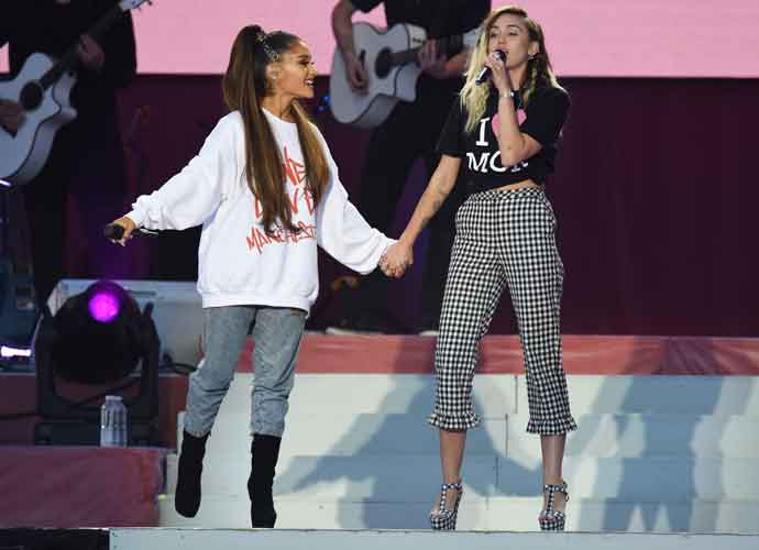 Ariana Grande & Celebs Return To Manchester For One Love Manchester Benefit Concert