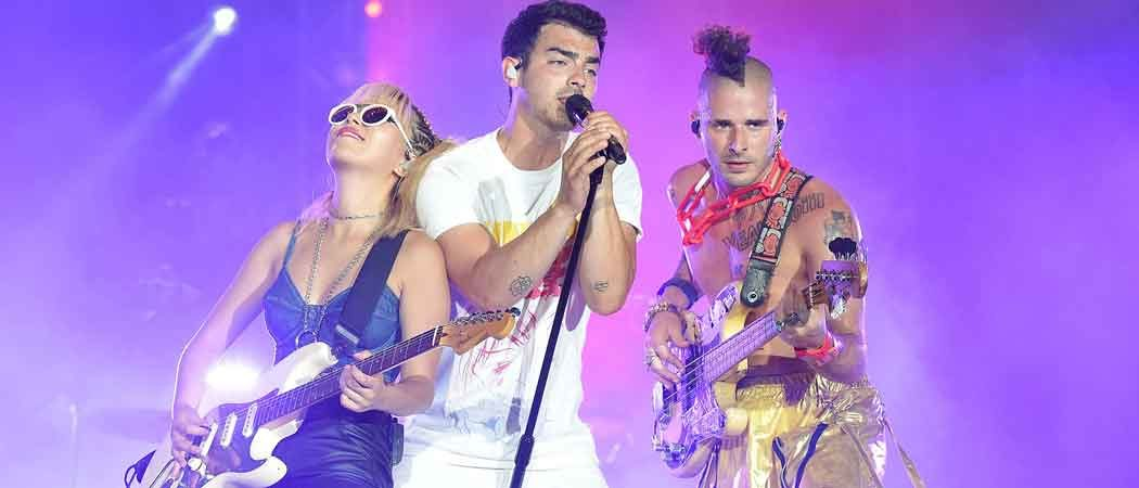 DNCE Performs At Annual Isle Of MTV Malta Event