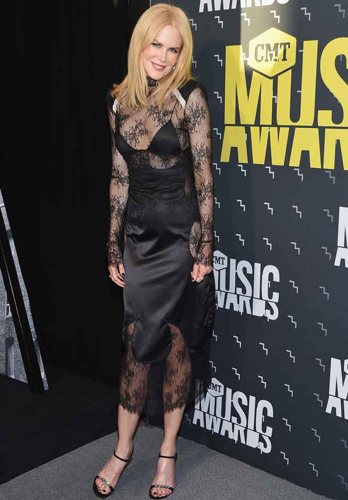 Nicole Kidman Supports Husband Keith Urban At CTM Musical Awards
