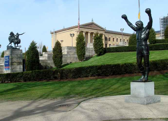 'Rocky' Statue Reopens Outside Philadelphia Museum Of Art