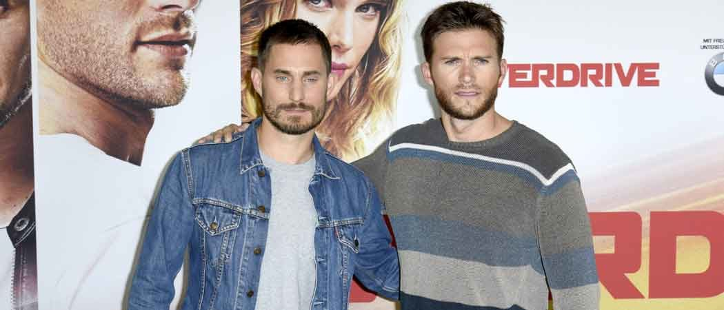 Scott Eastwood & Clemens Schick Attend 'Overdrive' Photocall in Berlin